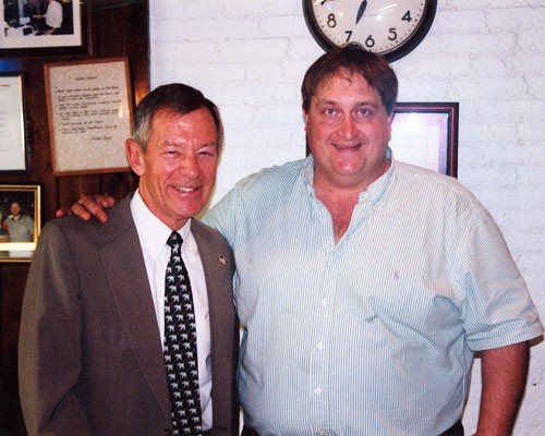 Former Governor George Voinovich