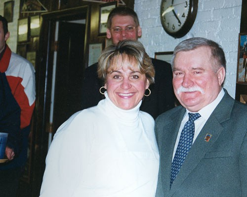 Former President of Poland Lech Walesa