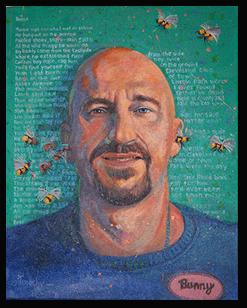 Bernie Sokolowski painting by Tim Herron